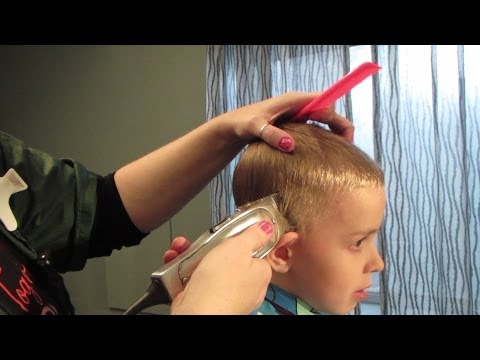 How to Cut Boys Hair With Clippers 10 Minutes - Easy