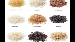 8 Varieties of Rice... With Rich Benefits