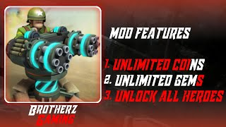 ALIEN CREEPS MEGA MOD UNLIMITED RESOURCES + UNLOCK ALL HEROES | BY BROTHERZ GAMING