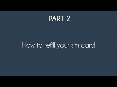 Israel Prepaid SIM Topup Service - Tutorial to refill your sim card