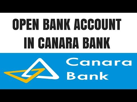 Canara Bank account opening Online | How to open canara bank account online