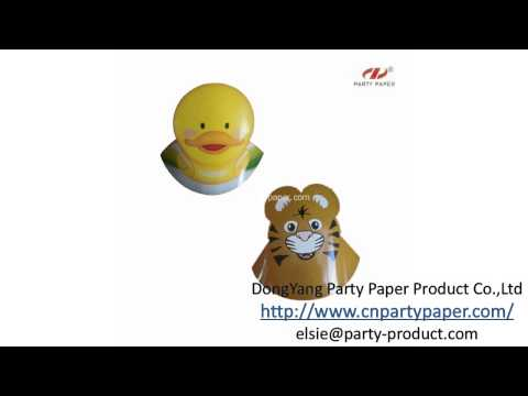 Funny Paper Birthday Party Hats for Kids - China professional Supplier, Exporter
