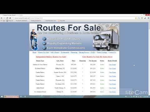 Evaluating A Route Business