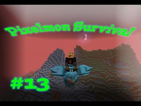 SHINY Bird Jesus! Pixelmon Survival Season 2! #13