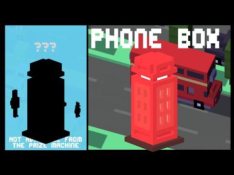 CROSSY ROAD PHONE BOX Unlock! | NEW Secret Character UK Update | Android, iOS (iPhone, iPad)