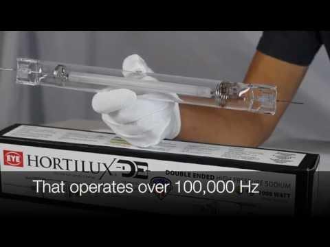 Eye Hortilux 1000W Double Ended (DE) HPS Bulb Unboxing Review