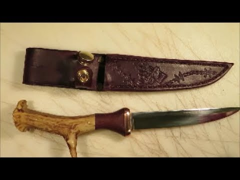 leather sheath for beginner step by step #3