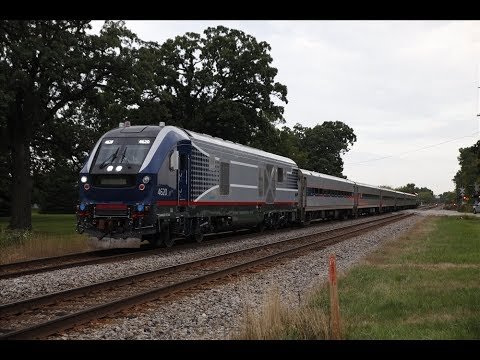 First solo revenue run for Illinois Department of Transportation's SC-44 Charger