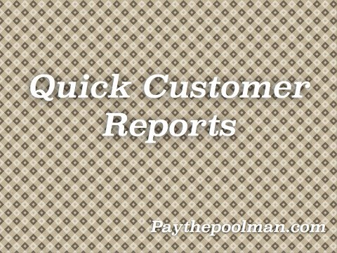 How to get a quick report for your customer(invoices, payments, history & more)