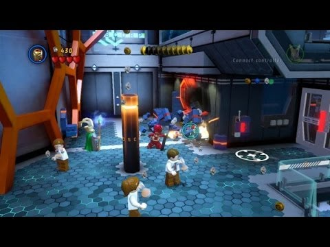 LEGO Marvel Super Heroes 100% Guide #3 - Exploratory Laboratory (All 10 Minikits, Stan Lee in Peril)