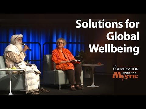Solutions for Global Wellbeing – Sadhguru in Conversation with Annette Dixon at World Bank