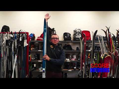 How to size cross country skis