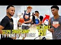 1 V 1 King Of The Court STEPH CURRY Camp Edition 15 Year Old SHOCKS Steph Nico Mannion SNAPS
