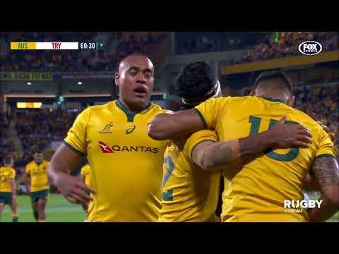 Wallabies vs Ireland highlights