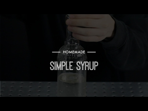 Homemade - Simple Syrup