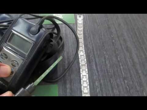 Bio Magnetic Brcelet Gauss Power testing