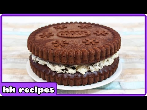 How to Make Giant Oreo Birthday Cake | Quick and Easy Recipe by HooplaKidz Recipes