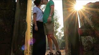 AVOIDING THE CROWDs at Angkor Wat