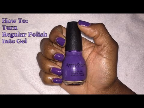 How To: Turn Regular Polish Into Gel