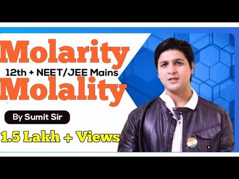Molarity and Molality I Chemistry I Hindi