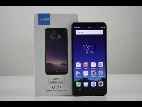 Vivo V7 Plus Unboxing, Hands on,Features
