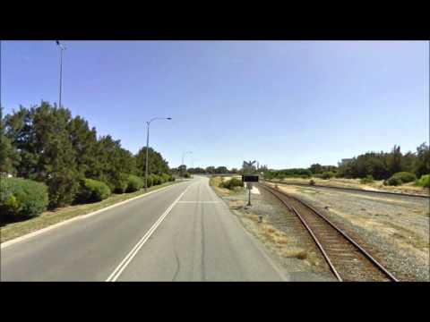 Time Lapse - Rockingham Beach Road in Western Australia
