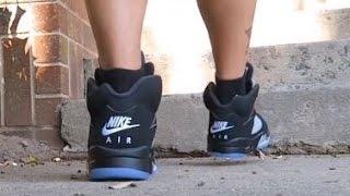 Adidas Originals Metro Attitude Hi Snakeskin Sneaker On Feet With @DjDelz