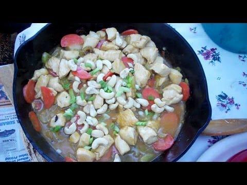 Cast Iron Skillet Chicken Stir Fry