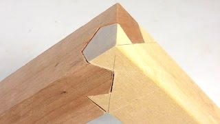 Clever 3-way joint (Kawai Tsugite) explained