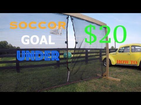 WOODEN SOCCER GOAL FOR UNDER $20!!