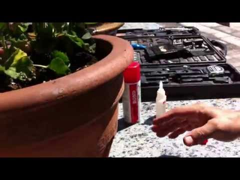 Learn How to repair a cracked clay pot / broken parts fast ! How to fix broken pots