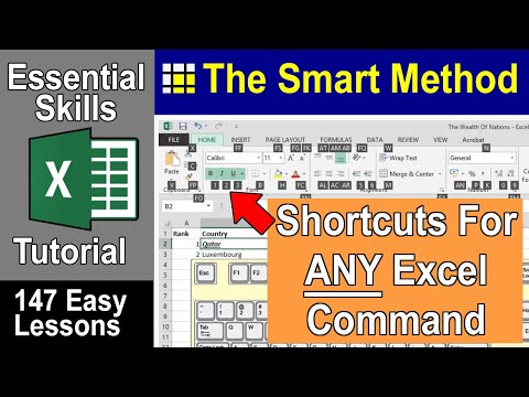 Excel Tutorial: Keyboard shortcuts and Key Tips in Excel | ExcelCentral.com