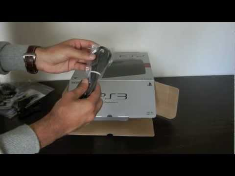 PlayStation 3 Slim (Battlefield 3 Edition - 320GB) Unboxing and Set-up