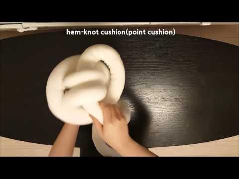 hem knot-cushion(point cushion)slow
