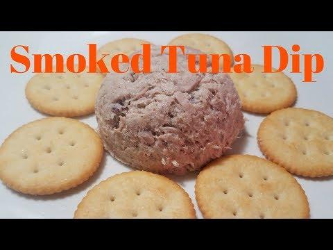 Smoked Tuna Dip - Halloween Edition