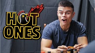 Download U.S. Airman Questioned While Eating Hot Wings | Hot Ones Challenge vs Air Force Video