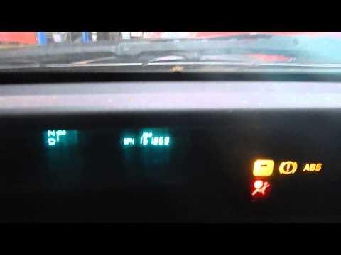 Gen II Prius fuel gauge - double flash