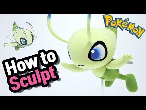 Xxx Mp4 Sculpting Celebi Psychic Grass Mythical Pokémon In Clay 3gp Sex