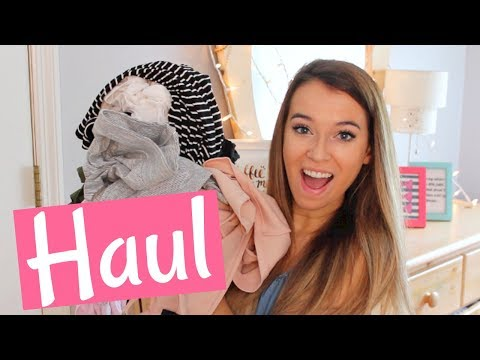 TRY ON SUMMER CLOTHING HAUL 2017!