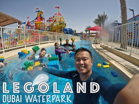 Inside Legoland Waterpark Dubai by arencejean.com