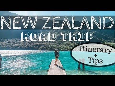NEW ZEALAND ROAD TRIP - Itinerary Hot Spots + Tips