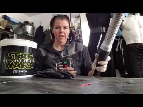 SL13377 Kylo Ren Gloves Shrink tutorial and v3 review