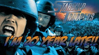 Download I'M 20 YEARS LATE!! // Starship Troopers 1997 (Movie) review Video