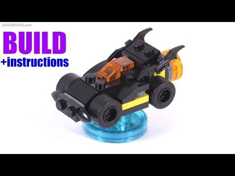 Build with me: LEGO Dimensions Batmobile v1