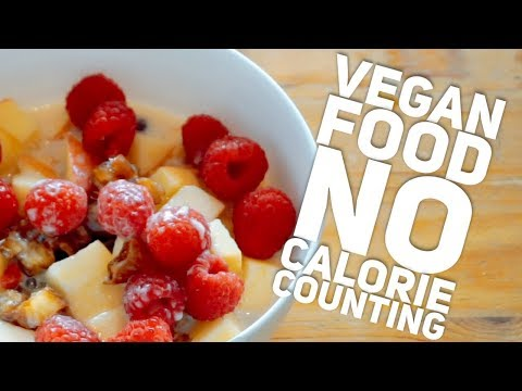 What I Ate [VEGAN] & Why I don't count calories