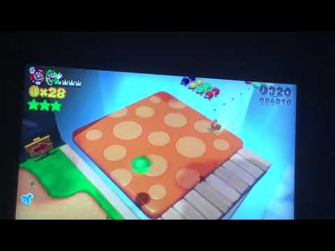 How to find Super Mario 3-D world Golden Brick Head locations!!!