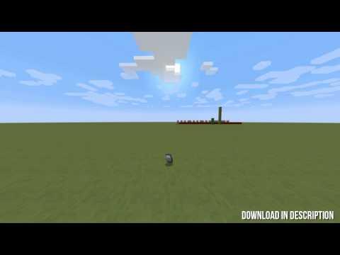 Flashbang in Vanilla Minecraft