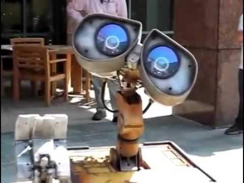 REAL Wall-E Robot