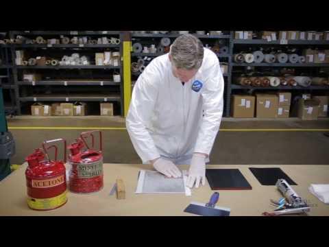 Bonding a Conductive Grounding Pad to Aluminum Using RTV60-CON Adhesive