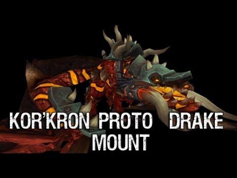 Patch 5.4 - Kor'Kron Proto-Drake Mount